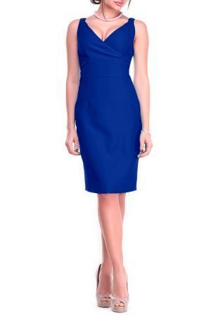 Платье-сарафан Dioni. Цвет: электрик
