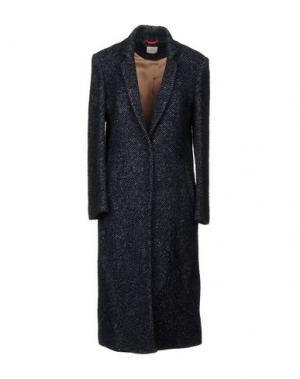 Пальто ..,MERCI. Цвет: темно-синий