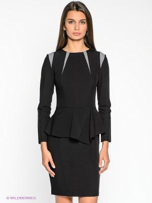 Платье Xarizmas. Цвет: черный, серый