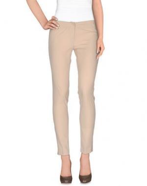 Повседневные брюки LE COMPLICI. Цвет: бежевый