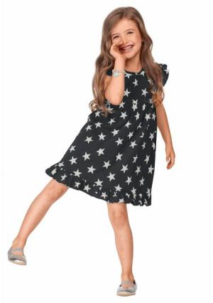 Платье KIDOKI. Цвет: темно-серый