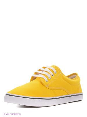Кеды 4U 4UK088/Yellow