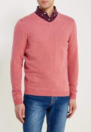 Пуловер Jack & Jones. Цвет: розовый