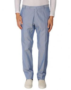 Повседневные брюки G.T.A. MANIFATTURA PANTALONI. Цвет: лазурный