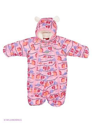 Комбинезон для малыша REIKE. Цвет: розовый