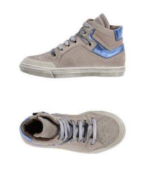 Высокие кеды и кроссовки GRANT GARÇON. Цвет: голубиный серый