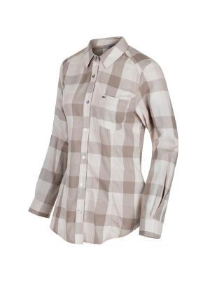 Рубашка Marcie REGATTA. Цвет: бежевый