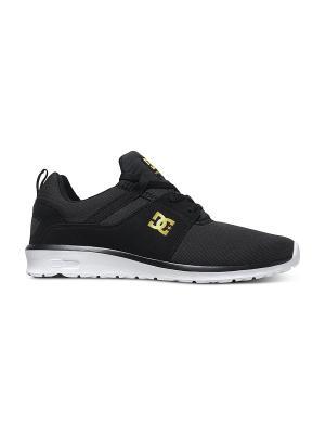 Кроссовки DC Shoes. Цвет: черный, золотистый