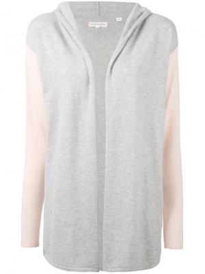 Cashmere slouchy cardigan Chinti And Parker. Цвет: серый