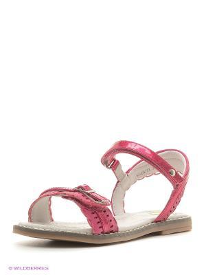 Сандалии Flamingo. Цвет: малиновый