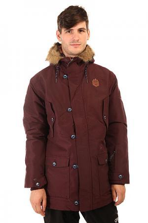 Куртка утепленная  Hudson Aubergine Picture Organic. Цвет: бордовый