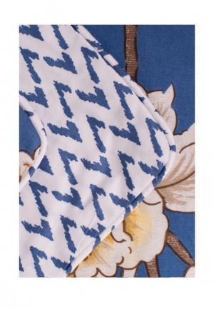 Комплект постельного белья Семейный Bellehome. Цвет: синий