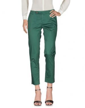 Повседневные брюки TRUE TRADITION. Цвет: зеленый