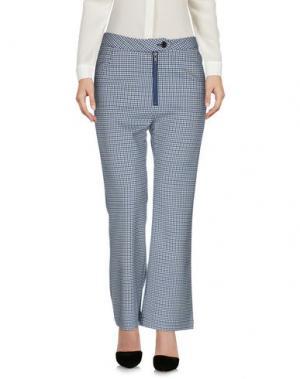 Повседневные брюки MANOUSH. Цвет: синий