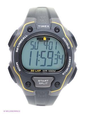Часы TIMEX. Цвет: черный, серый