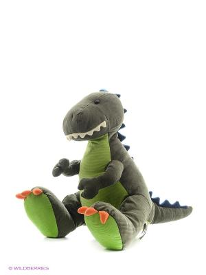 Игрушка мягкая (Plush T-Rex, 35,5 см). Gund. Цвет: серо-зеленый