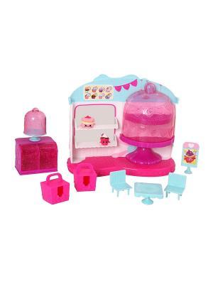 Игровой набор Кафе Шопкинс  Королева кексов Moose. Цвет: розовый