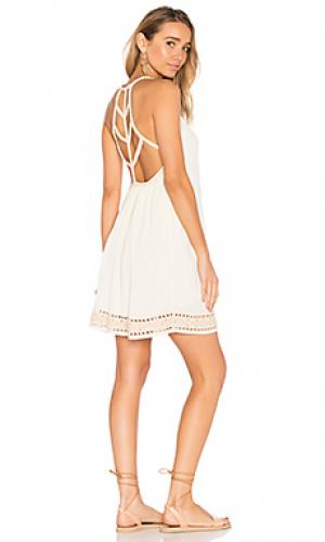 Платье wren SAYLOR. Цвет: белый