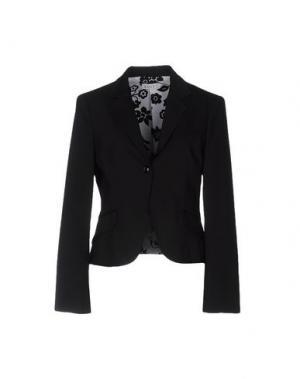 Пиджак LIST. Цвет: черный