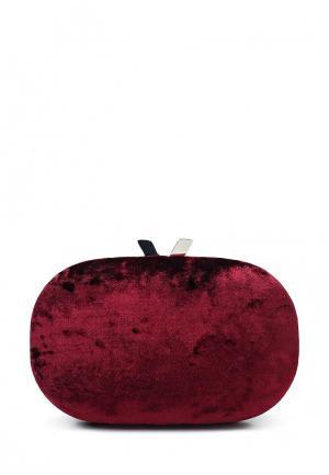 Клатч Olga Berg. Цвет: бордовый