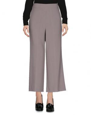 Повседневные брюки NINETTE. Цвет: серый