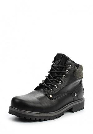 Ботинки Montefiori. Цвет: черный