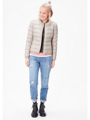 Куртка S.OLIVER. Цвет: бежевый