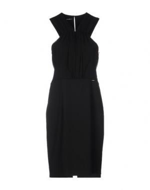 Платье до колена ANNARITA N.. Цвет: черный