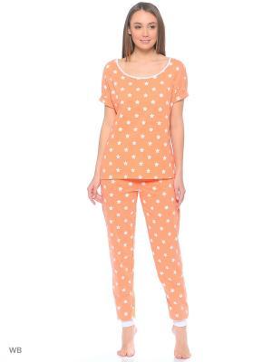 Пижама Letto. Цвет: оранжевый