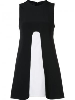 Платье Elena Misha Nonoo. Цвет: чёрный