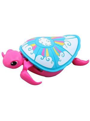 Интерактивная черепашка Little Live Pets Третья серия Розовая Moose. Цвет: розовый