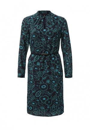 Платье Baon. Цвет: бирюзовый