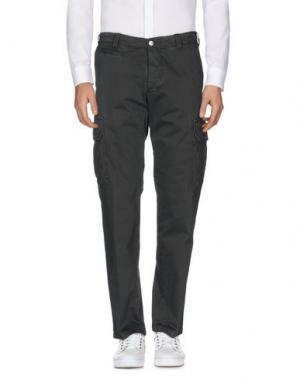 Повседневные брюки AVIO. Цвет: темно-зеленый