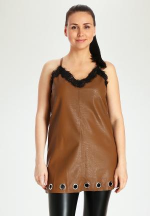Туника Marissimo. Цвет: коричневый