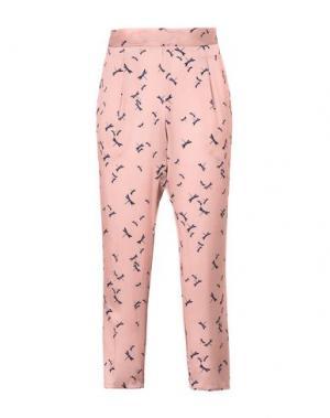 Повседневные брюки GEORGE J. LOVE. Цвет: телесный
