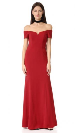 Badgley Mischka Collection. Цвет: венецианский красный