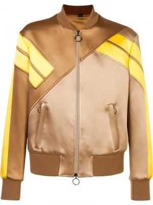 Спортивная куртка Neil Barrett. Цвет: коричневый