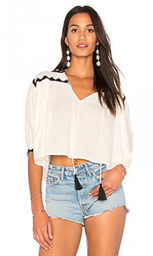 Блузка tarahumara Carolina K. Цвет: белый