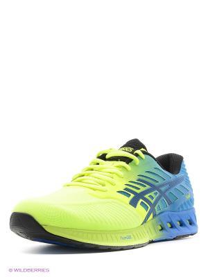 Спортивная обувь fuzeX ASICS. Цвет: желтый, черный, синий