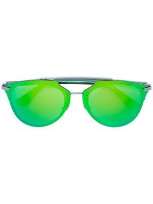 Солнцезащитные очки ReflectedP Dior Eyewear. Цвет: зелёный