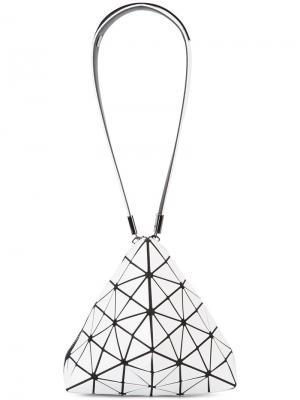 Сумка треугольной формы Bao Issey Miyake. Цвет: белый