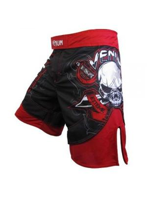 Шорты ММА Venum Pirate 2.0  - Bloody Red. Цвет: красный, черный