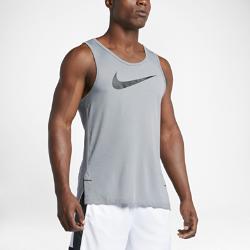 Мужская баскетбольная майка  Dry Elite Nike. Цвет: серый