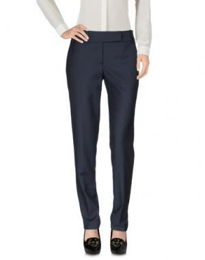Повседневные брюки INTROPIA. Цвет: грифельно-синий