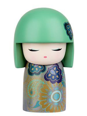Кукла-талисман Мие (Удовольствие)  Размер mini (6х3,5 см.) Kimmidoll. Цвет: оливковый