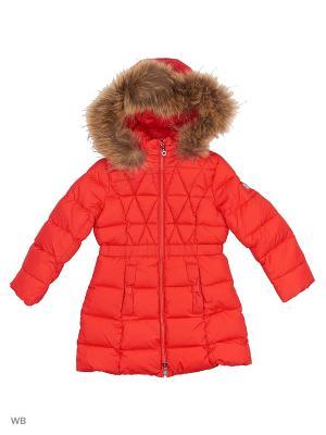 Пальто SNOWIMAGE. Цвет: красный