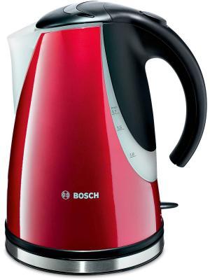 Чайник TWK7804 1.7л. 2200Вт Bosch. Цвет: красный