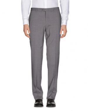 Повседневные брюки PAOLONI. Цвет: серый