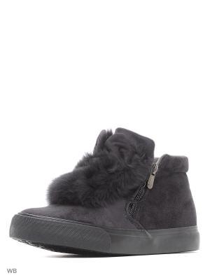 Ботинки RENZONI. Цвет: серый