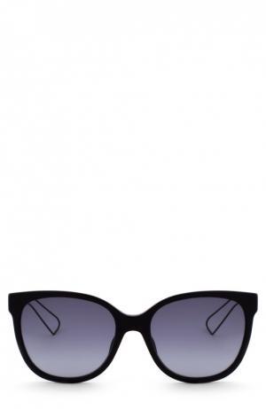 Солнцезащитные очки Dior. Цвет: черный